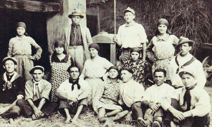 The Bernascone family